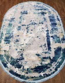 Овальный Ковёр Elit 9189A Blue Grey