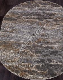 Ковер D777 - BEIGE-GRAY - Овал SERENITY