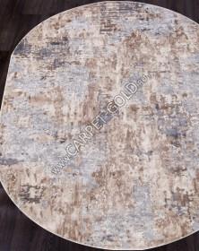 15452A - BEIGE / GREY - Овал - коллекция TOKIO
