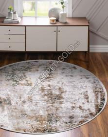 12104 - CREAM / GREEN - Круг - коллекция ALLURES