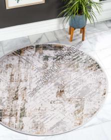 12123 - CREAM / GREEN - Круг - коллекция ALLURES