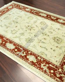 Турецкий шерстяной ковер Nain 103-01-BK - CREAM-RUST