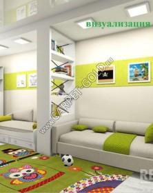 Детский ковер Merinos CRYSTAL_2740_GREEN