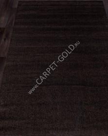 Ковер с длинным ворсом из синтетики PLATINUM T600 - BROWN