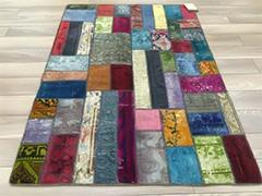 Турецкие ковры в стиле Пэчворк