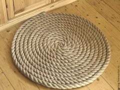Новинки ковров с основой из джута