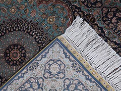 Обзор шелковых ковров