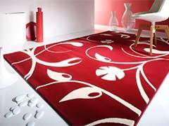 Красные ковры в интерьере