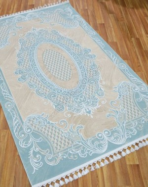 Турецкий ковер Istinia 2967B BEIGE BLUE