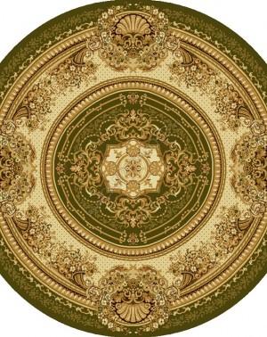 Ковер из шерсти  Floare-Carpet MEDICI 294-5542 круг