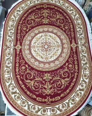 Молдавский ковер шерстяной Floare-carpet 321-3658 Oval
