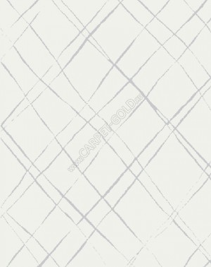 Бельгийский ковер Ambiance 81253 white silver