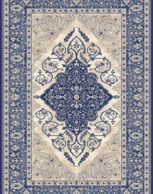 Agnella Isfahan Leyla dark blue