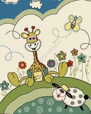 Детский ковер Merinos CRYSTAL 2908 - CREAM