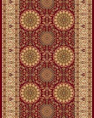 d132 - RED - Дорожка - коллекция IZMIR