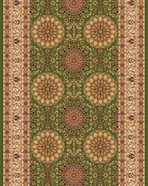 d132 - GREEN - Дорожка - коллекция IZMIR
