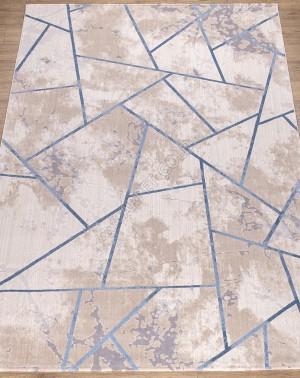 КОВРЫ ДИЗАЙН W1518 ЦВЕТ CREAM / BLUE