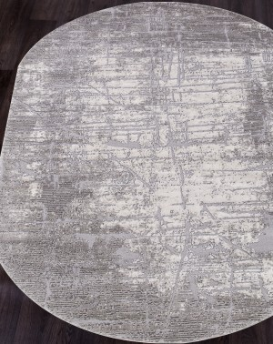 Ковер 5801C - LIGHT GREY - Овал OPERA