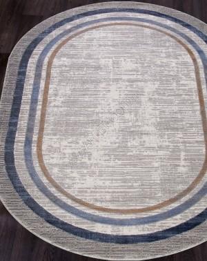 Ковер 5881A - SKY BLUE - Овал - коллекция OPERA