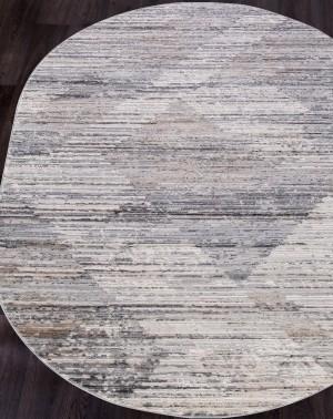 Ковер G501A - WHITE / D.VIZON - Овал - коллекция EFES