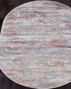 Ковер G509C - WHITE / SALMON - Овал - коллекция EFES