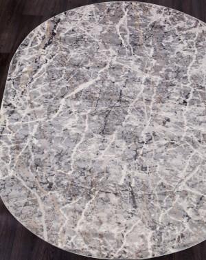 Ковер G507A - WHITE / D.VIZON - Овал - коллекция EFES