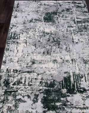 Ковер 5022A - COKEN D.GREY / GREEN коллекция MARDAN