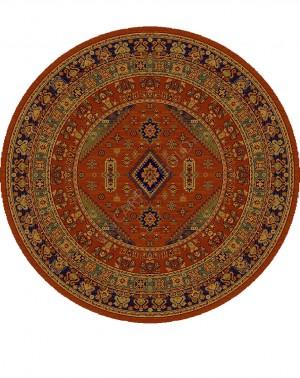 Молдавский ковер шерстяной Floare-carpet  436 DARIUS 60311 ELITE Круг