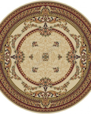 Молдавский ковер шерстяной Floare-carpet 209 DOFIN 61126 ELITE Круг