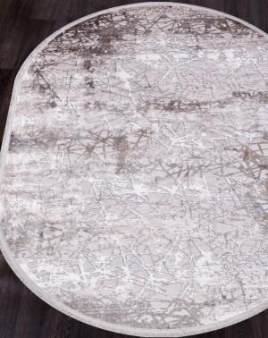 18708S - GREY / D.BEIGE - Овал - коллекция RAMIYA