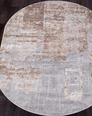 15489A - BEIGE / BROWN - Овал - коллекция TOKIO