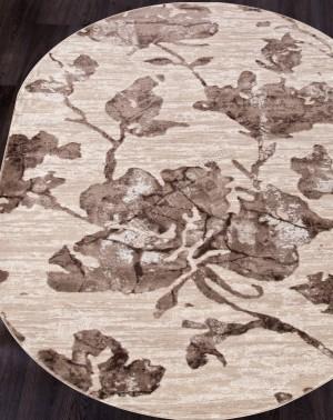 17974A - BEIGE / BROWN - Овал - коллекция TOKIO