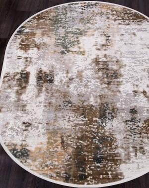 12104 - CREAM / GREEN - Овал - коллекция ALLURES