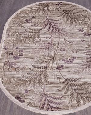 Ковер O0284 - 050 PURPLE - Овал - коллекция REGINA