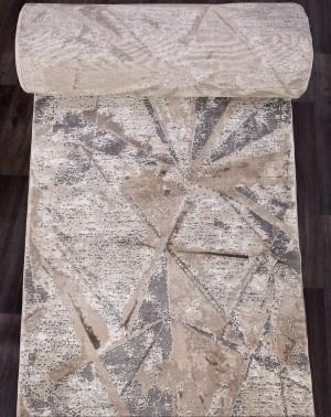 Ковровая дорожка 04022C - GREY / BROWN - коллекция ARMINA