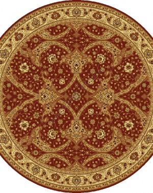 Шерстяной ковер Floare-Carpe BAGDAD 065-3658 Круг