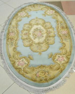 Китайский ковер ручной работы SHD-06 LIME Oval