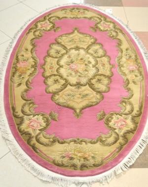 Китайский ковер ручной работы SHD-06 Rose Oval
