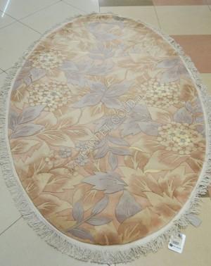 Китайский ковер ручной работы 9611 - BEIGE oval