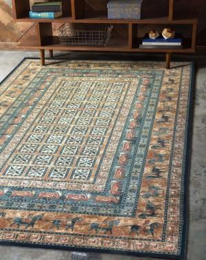 Шерстяной ковер коллекции «KASHQAI» 4301-500 из Бельгии