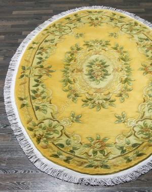 Китайские ковры Versailles 6057A - YELLOW - Овал