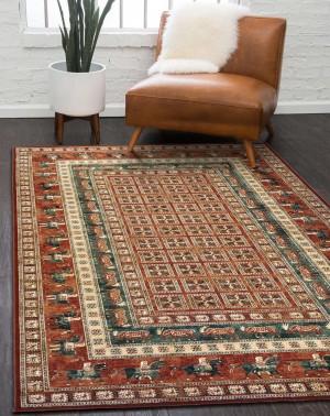 Шерстяной ковер коллекции «KASHQAI» 4301-300 из Бельгии