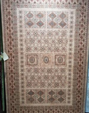 Шерстяной ковер коллекции «KASHQAI» 4307-100 из Бельгии