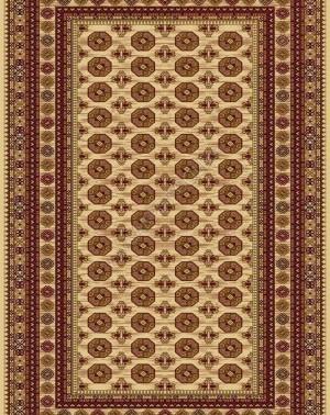 Молдавский ковер из шерсти Floare-Carpet Safir 471-61126