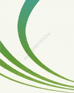 Ковер Бельгийский из синтетики Swing 6280 3P16 cream green