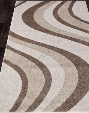 Ковер с длинным ворсом из синтетики PLATINUM T617 - CREAM