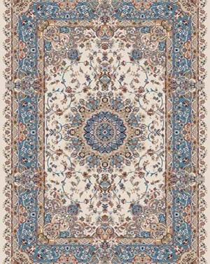 Ковёр Российский SHAHREZA D206 - CREAM-BLUE