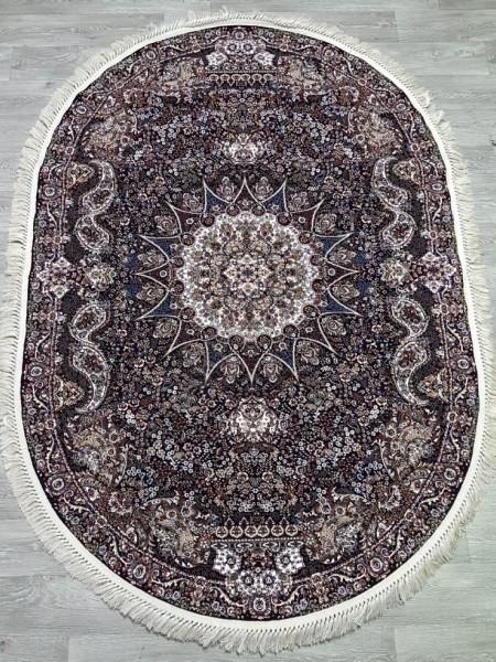 Marokand 7722 lacivert lacivert oval