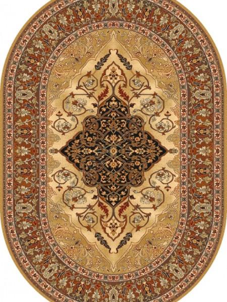 Isfahan Oval Leyla amber