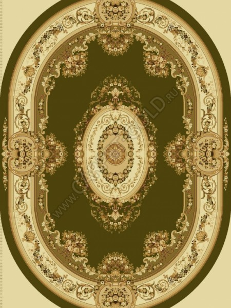 Молдавский ковер Floare-Carpet BUSHE 210-5542 Овал